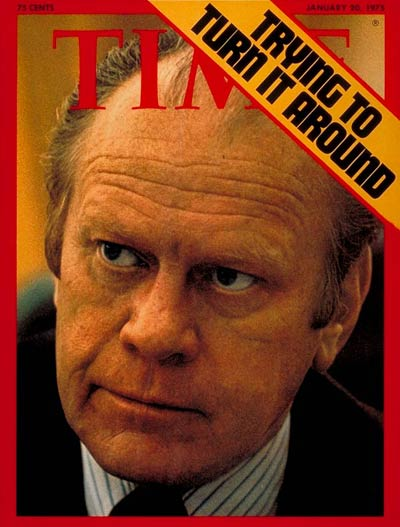 TIME Magazine Cover: Gerald Ford -- Jan. 20, 1975