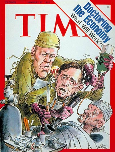 TIME Magazine Cover: The Economy -- Jan. 27, 1975