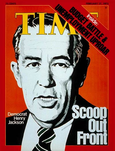 TIME Magazine Cover: Henry Jackson -- Feb. 17, 1975