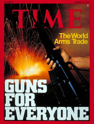 TIME Magazine Cover: The World Arms Trade -- Mar. 3, 1975