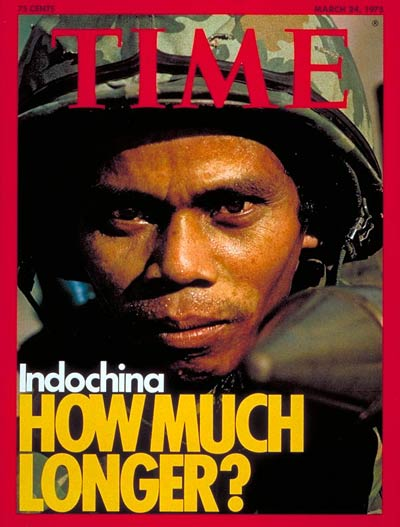 TIME Magazine Cover: Indochina -- Mar. 24, 1975