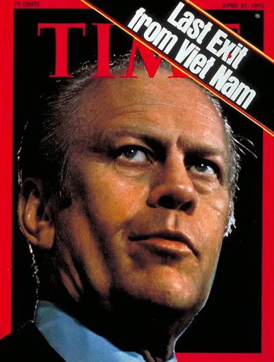 TIME Magazine Cover: Gerald Ford -- Apr. 21, 1975