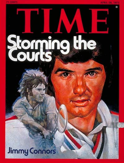 TIME Magazine Cover: Jimmy Connors -- Apr. 28, 1975
