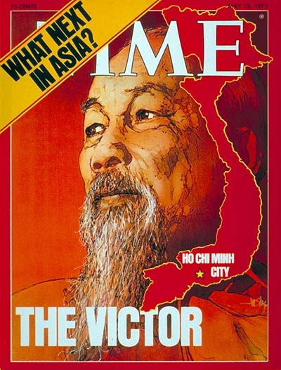 TIME Magazine Cover: Ho Chi Minh -- May 12, 1975