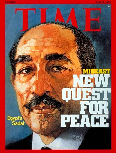 TIME Magazine Cover: Anwar Sadat -- June 9, 1975