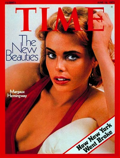 TIME Magazine Cover: Margaux Hemingway -- June 16, 1975