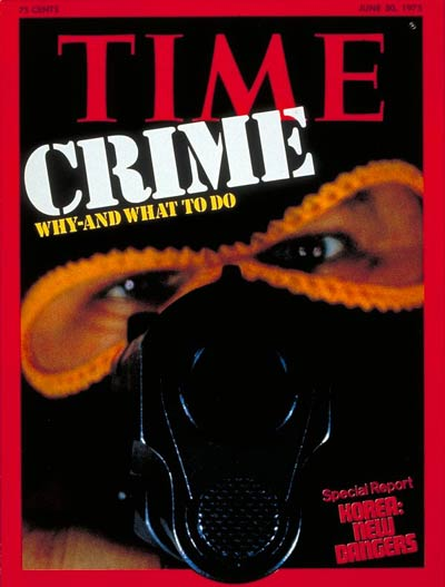 TIME Magazine Cover: Crime -- June 30, 1975