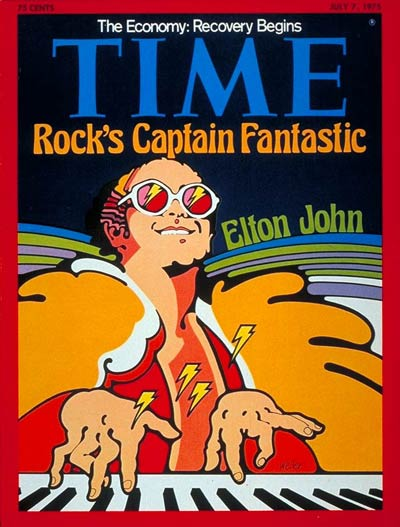 TIME Magazine Cover: Elton John -- July 7, 1975