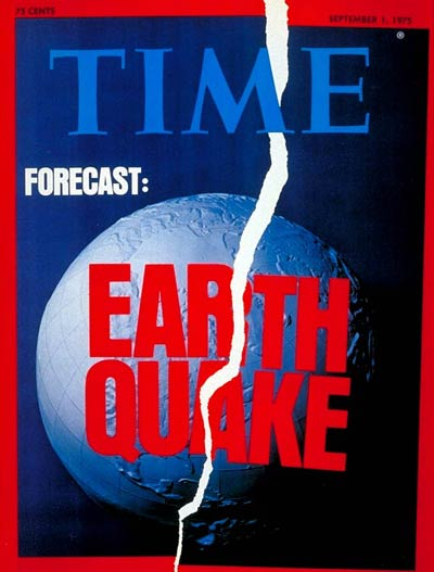 TIME Magazine Cover: Earthquakes -- Sep. 1, 1975