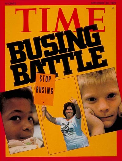 TIME Magazine Cover: Busing -- Sep. 22, 1975