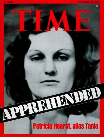Kidnapped Heiress turned Revolutionary, Patricia C. Hearst