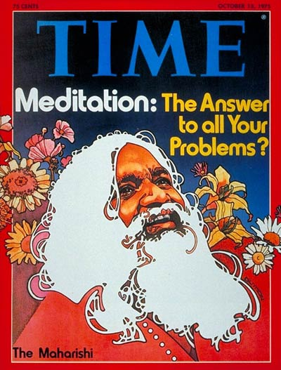 TIME Magazine Cover: The Maharishi -- Oct. 13, 1975