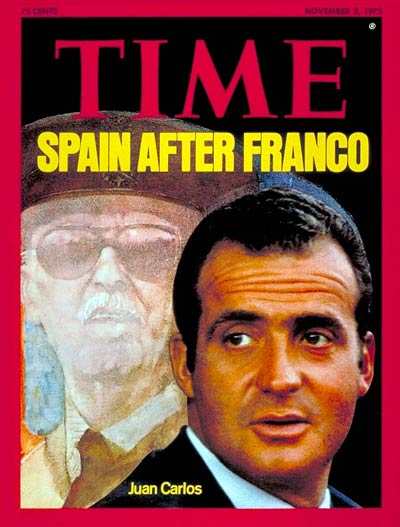 TIME Magazine Cover: Juan Carlos -- Nov. 3, 1975