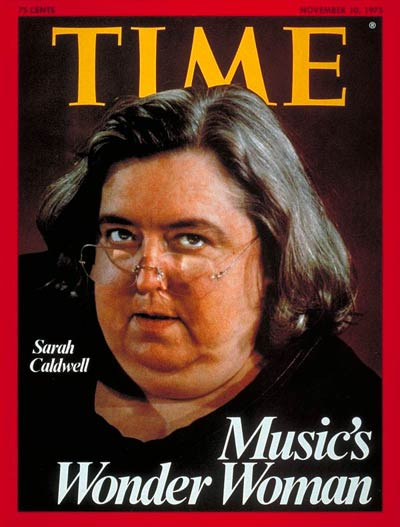 TIME Magazine Cover: Sarah Caldwell -- Nov. 10, 1975