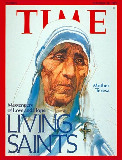 TIME Magazine Cover: Mother Teresa -- Dec. 29, 1975