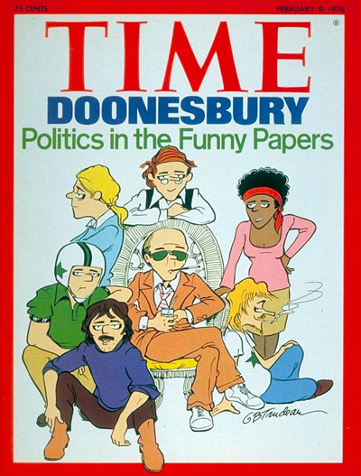 TIME Magazine Cover: Doonesbury -- Feb. 9, 1976