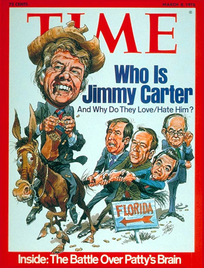 TIME Magazine Cover: Jimmy Carter -- Mar. 8, 1976