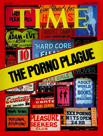 TIME Magazine Cover: Pornography -- Apr. 5, 1976