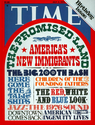 TIME Magazine Cover: Birthday Issue -- July 5, 1976