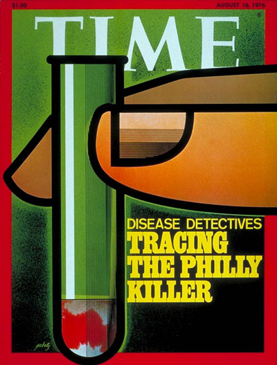 TIME Magazine Cover: Disease Detectives -- Aug. 16, 1976