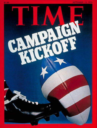 TIME Magazine Cover: The Campaign -- Sep. 13, 1976