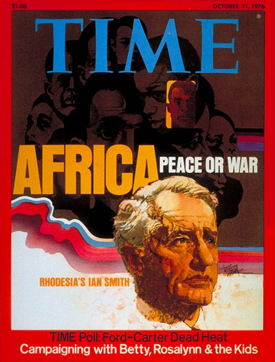 TIME Magazine Cover: Ian Smith -- Oct. 11, 1976