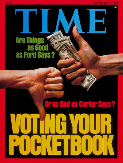 Voting Your Pocketbook' re The Economy & The Election.