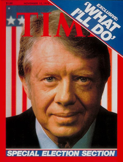 TIME Magazine Cover: Jimmy Carter -- Nov. 15, 1976