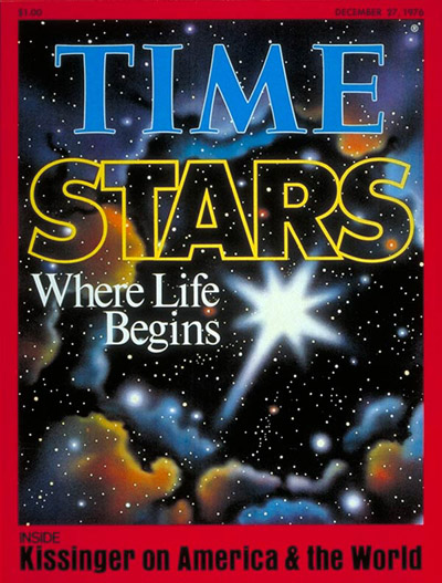 TIME Magazine Cover: Stars -- Dec. 27, 1976