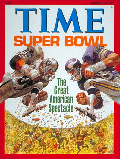 TIME Magazine Cover: The Super Bowl -- Jan. 10, 1977