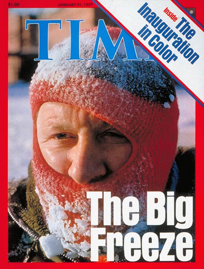TIME Magazine Cover: Winter Weather -- Jan. 31, 1977