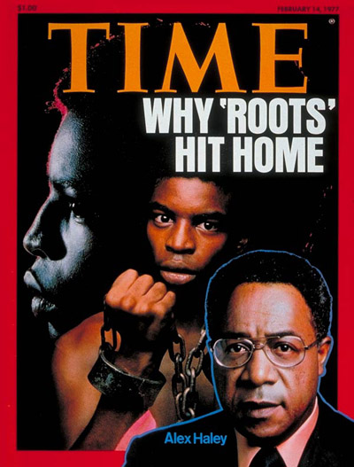 TIME Magazine Cover: Alex Haley -- Feb. 14, 1977