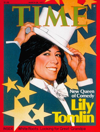 TIME Magazine Cover: Lily Tomlin -- Mar. 28, 1977
