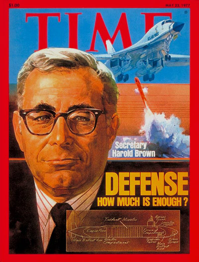 TIME Magazine Cover: Harold Brown -- May 23, 1977