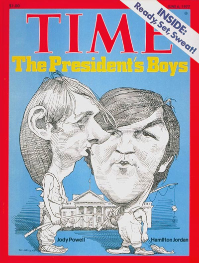 TIME Magazine Cover: Jody Powell and Hamilton Jordan -- June 6, 1977
