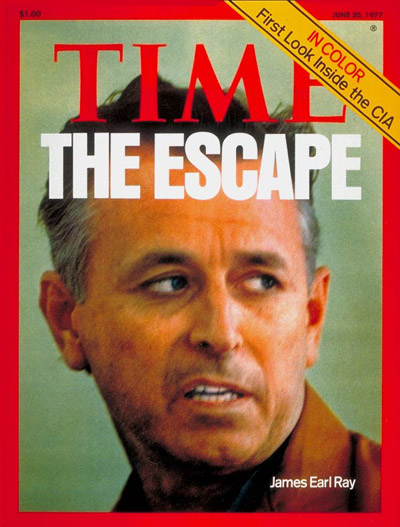 TIME Magazine Cover: James Earl Ray -- June 20, 1977
