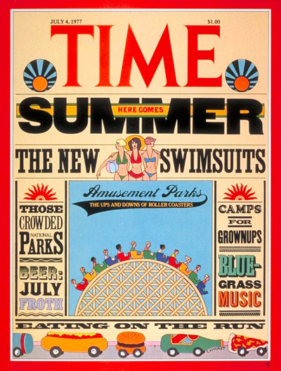 TIME Magazine Cover: Summer Fun -- July 4, 1977
