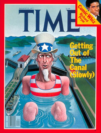 TIME Magazine Cover: Panama Canal -- Aug. 22, 1977