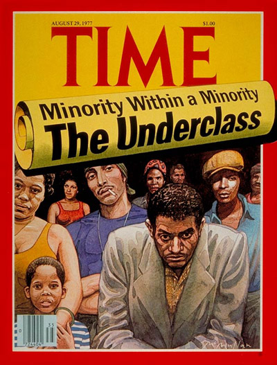 TIME Magazine Cover: The Underclass -- Aug. 29, 1977