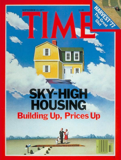 TIME Magazine Cover: Housing Costs -- Sep. 12, 1977