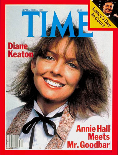 Annie Hall Meets Mr. Goodbar' with Diane Keaton. Inset:, embattled Director of Management and Budget, Burt Lance