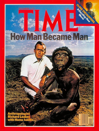 TIME Magazine Cover: Richard Leakey -- Nov. 7, 1977