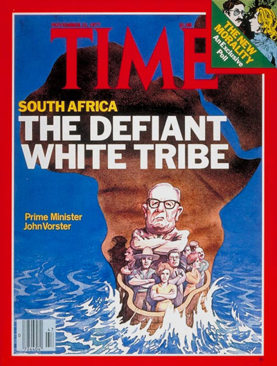 TIME Magazine Cover: John Vorster -- Nov. 21, 1977