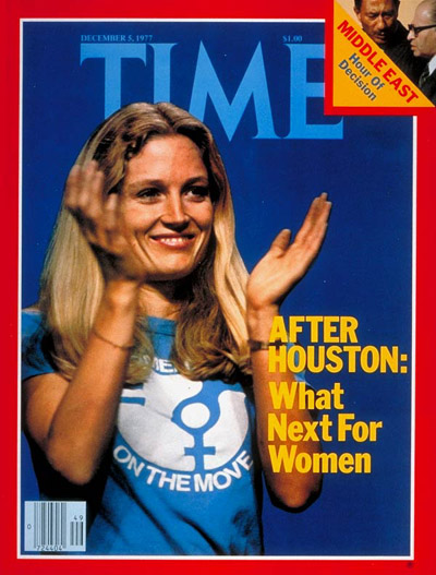 TIME Magazine Cover: Women's Politics -- Dec. 5, 1977