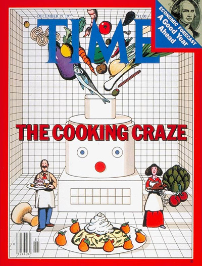 TIME Magazine Cover: Cooking Craze -- Dec. 19, 1977