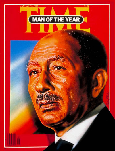 TIME Magazine Cover: Anwar Sadat, Man of the Year -- Jan. 2, 1978