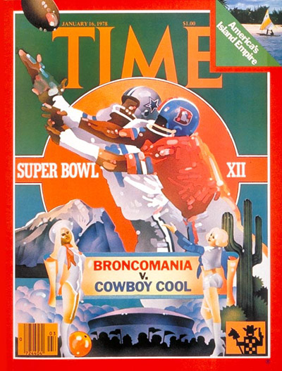 TIME Magazine Cover: The Super Bowl -- Jan. 16, 1978