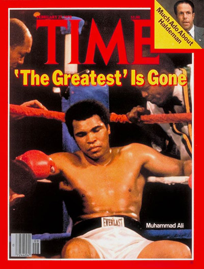 TIME Magazine Cover: Muhammad Ali -- Feb. 27, 1978