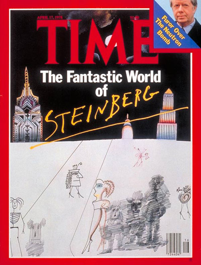 TIME Magazine Cover: Saul Steinberg -- Apr. 17, 1978