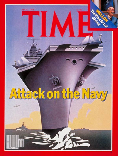 TIME Magazine Cover: U.S. Navy -- May 8, 1978